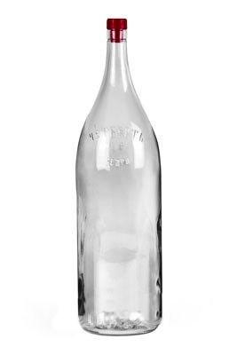 """Бутылка стеклянная """"Четверть"""" 3,075 л - фото 7475"""