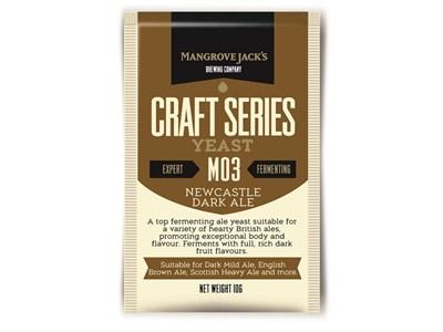 Дрожжи Newcastle Dark Ale M03 - Mangrove Jack`s Craft Series Yeast - фото 7522
