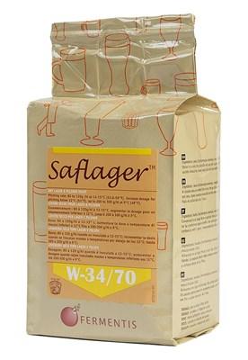 Дрожжи пивные Saflager W-34/70 низового брожения 10 гр. - фото 7619