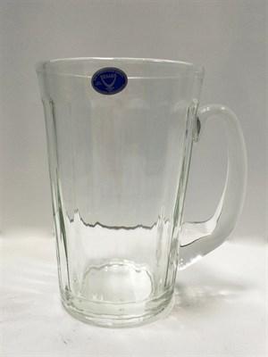 Кружка граненая для пива 0,5 л - фото 7658