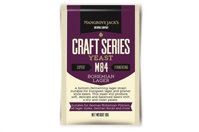 Дрожжи Mangrove Jacks Craft Series Yeast - Bohemia Lager M84 - фото 8376