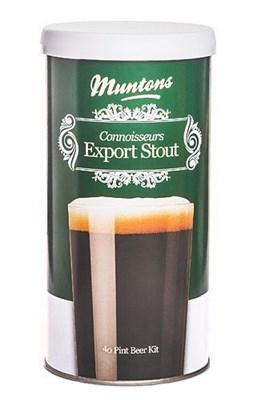 Пивная смесь Muntons Export Stout 1,8 кг - фото 8407