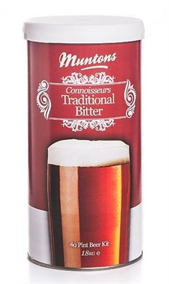 Пивная смесь Muntons Traditional Bitter 1,8 кг - фото 8408