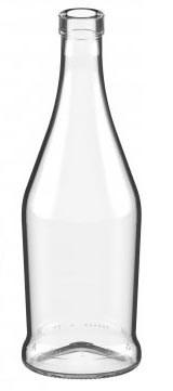 "Бутылка ""Наполеон"" 0,5 бесцветная - фото 8577"