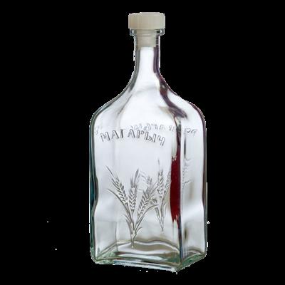 """Бутылка стеклянная """"Магарычок"""" 1,2 л - фото 8733"""