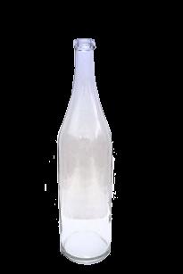 Бутыль прозрачная 1 литр - фото 8742