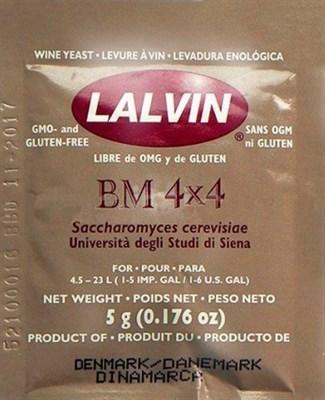 Дрожжи винные Lalvin BM 4x4, 5 гр.