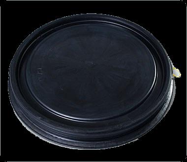 Крышка для синей бочки 48/65 литров - фото 8767