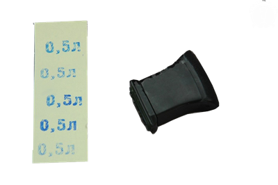 "Штамп для этикеток ""0,5л"" - фото 8943"