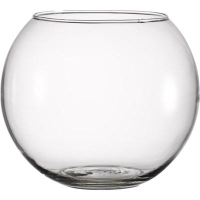 """Ваза """"Шар"""" прозрачное стекло - фото 8952"""