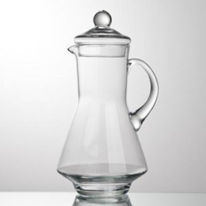Кувшин 1,2 литра прозрачное стекло - фото 8958