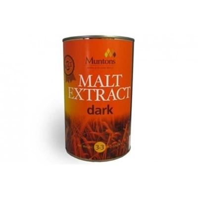 Неохмеленный солодовый экстракт Muntons Dark Malt Ext 1,5 кг - фото 9748