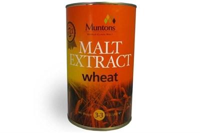 Неохмеленный солодовый экстракт Muntons Wheat Malt Ext 1,5 кг - фото 9763
