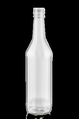 Бутылка водочная винтовая 0,5 л бесцветная - фото 9821