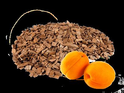 Щепа фруктовая обжаренная (абрикос), 1 кг - фото 9903