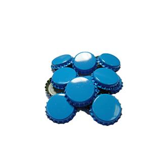 Кроненпробки синие 80 шт - фото 9935