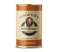 Неохмеленный солодовый экстракт Coopers Amber Malt 1,5 кг