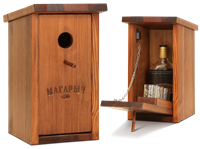 Бар скворечник Магарыч вишня (бутылка+чехол+3 стопки)