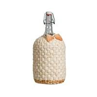 """Бутылка """"Венеция"""" 2 л оплетенная листьями кукурузы"""