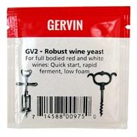 "Винные дрожжи Gervin ""Robust Wine GV2"", 5 г"