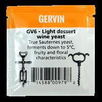 "Винные дрожжи Gervin ""Light Dessert Wine GV6"", 5 г"