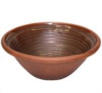Тарелка для супа 17,5*6 см с глазурью