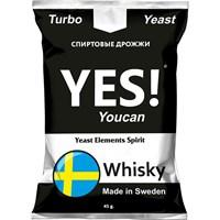 Турбо дрожжи YES! Whisky 45 гр.