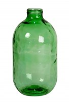 Банка 10 литров с винтовой крышкой зеленая