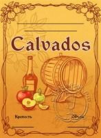 """Этикетка """"Calvados"""""""