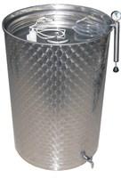 Емкость нерж. с пневмокрышкой 300 литров