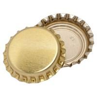 Кроненпробки золотые 80 шт