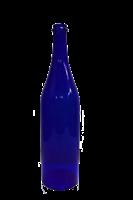 Бутылка 1 литр синее стекло