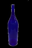 """Бутыль """"Четверть"""" 3 литра синее стекло"""