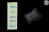 Штамп для этикеток 43%