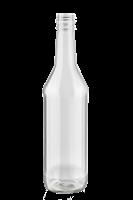 Бутылка водочная винтовая 0,5 л бесцветная