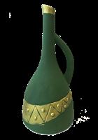 """Бутылка грузинская глиняная """"Египет"""""""