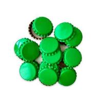 Кроненпробки зеленые 80 шт