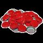 Кронепробки Италия, Красные, 200 шт (29 мм) - фото 10047