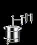 "Дистиллятор ""Феникс"" Локомотив с двумя разборными сухопарниками 30 литров - фото 11461"