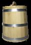 Кадка дубовая 10 литров - фото 6978