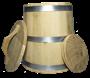 Кадка дубовая 10 литров - фото 6979