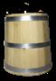 Кадка дуб 50 литров без крышки - фото 8259