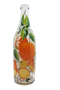 Бутылка 1 литр прозр. стекло ручная роспись - фото 8749