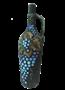 """Бутылка грузинская глиняная """"Виноград"""" - фото 9917"""