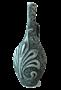 "Бутылка грузинская глиняная ""Цветок"" - фото 9919"