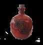 """Бутылка грузинская глиняная """"Гранат"""" - фото 9925"""